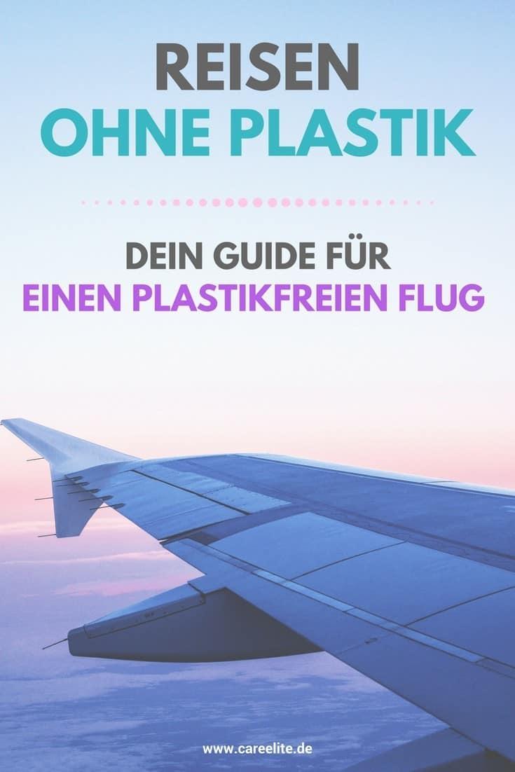 Plastikfrei fliegen - Ohne Plastik im Flugzeug