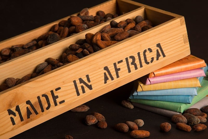 Nachhaltige Schokolade von fairafric, fair und soziale Schokolade