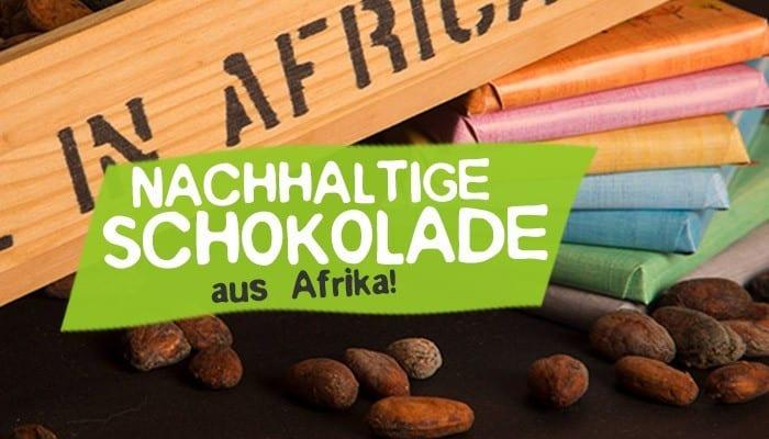Nachhaltige Schokolade von Fairafric aus Afrika