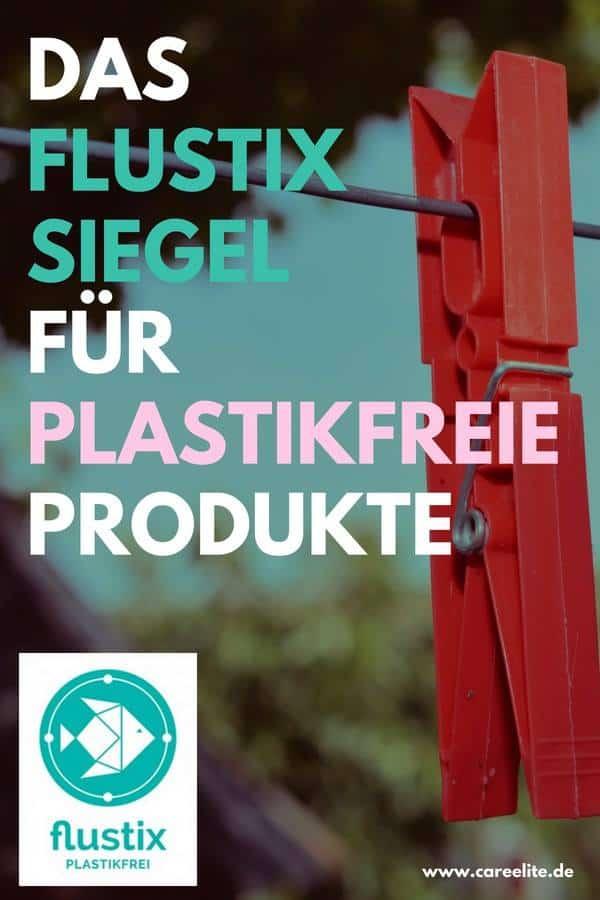 Plastikfrei Siegel von FLUSTIX