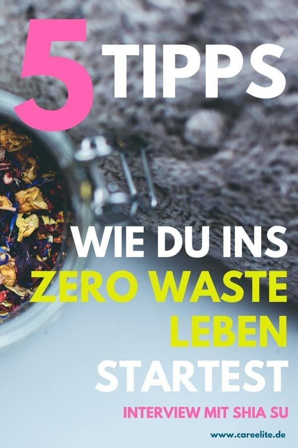 Shia Su Interview - Zero Waste Fragen