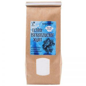Birkenzucker kaufen (Xylit) in der plastikfreien Verpackung