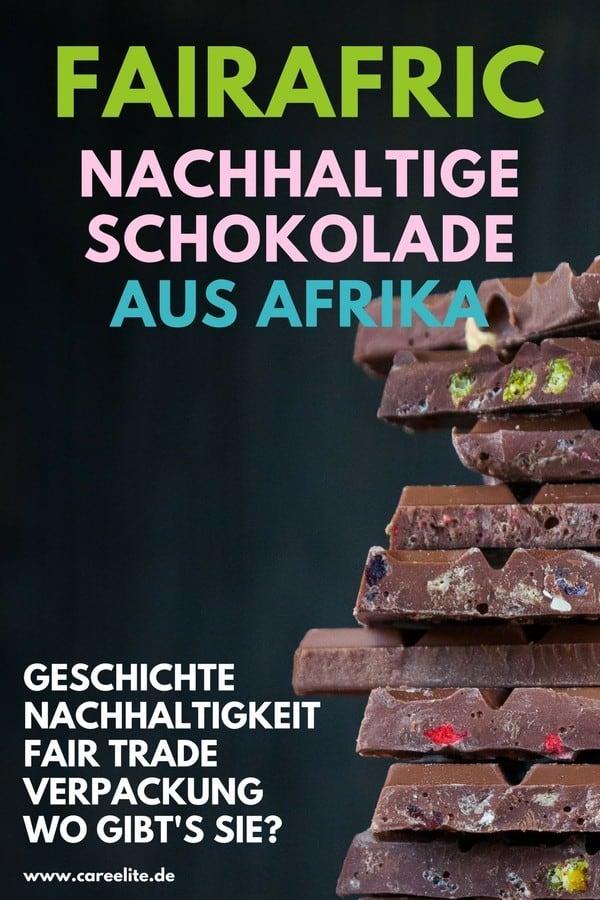 Nachhaltige Schokolade von Fairafric aus Ghana