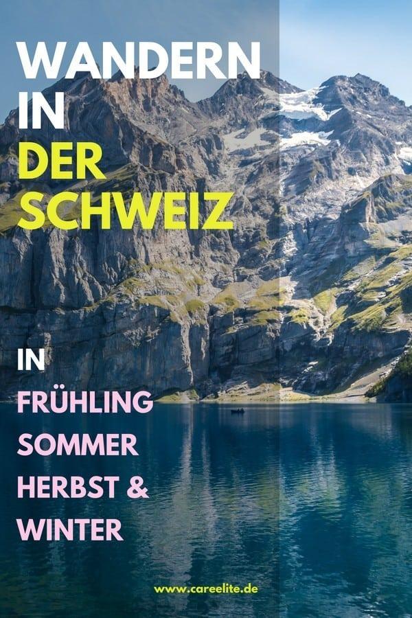 Wandern in der Schweiz Tipps & Tricks