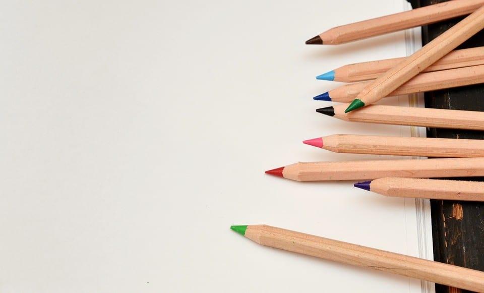Buntstifte - Müllvermeidung in der Schule