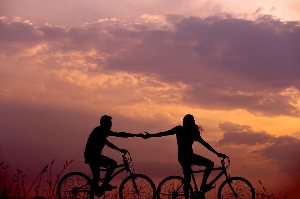 Fahrrad fahren - Leben ohne Auto