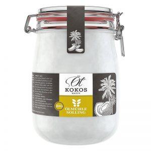 Natives Kokosöl im Glas kaufen ohne Plastik