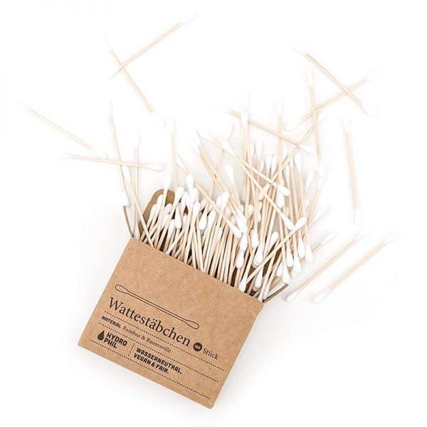 Plastikfreie Wattestäbchen aus Holz online kaufen