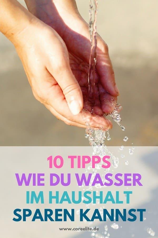 Wasser sparen im Alltag - Wasserverbrauch reduzieren