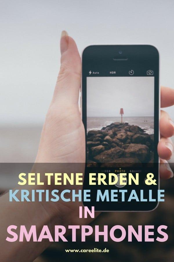 Kritische Metalle und seltene Erden in Smartphones und Handys