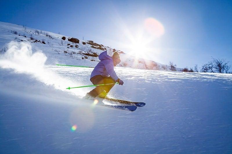 Nachhaltig Skifahren - Gymnastik und Umwelt