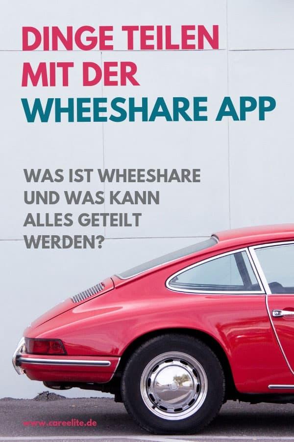 Dinge teilen mit der WeeShare App