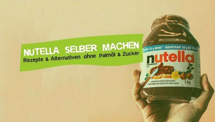 nutella selber machen 3 rezepte alternativen careelite. Black Bedroom Furniture Sets. Home Design Ideas