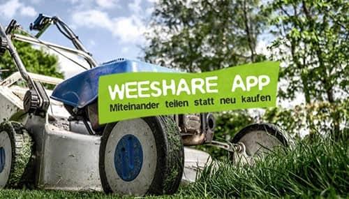WeeShare App zum Teilen von Dingen