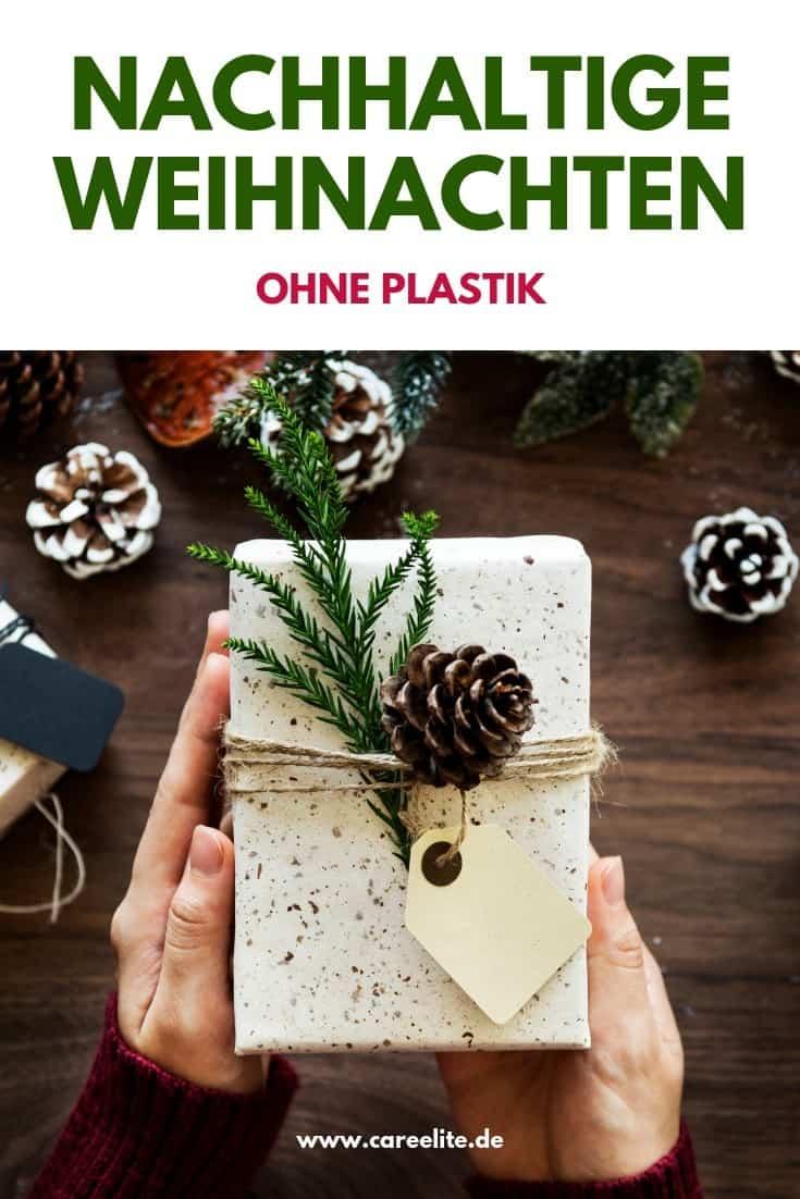 Plastikfreie Weihnachten ohne Plastik - Nachhaltiges Weihnachtsfest
