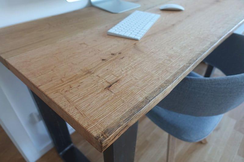 DIY Schreibtisch selber bauen Do It Yourself