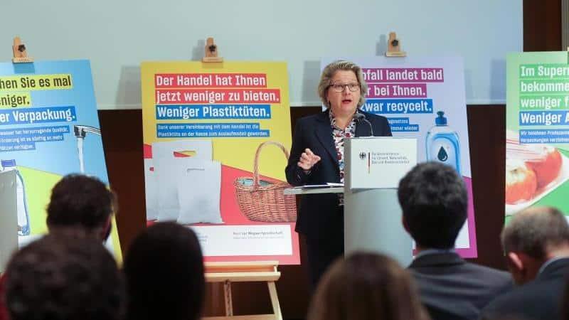 Umweltministerium will Selbstverpflichtung gegen Plastikmüll