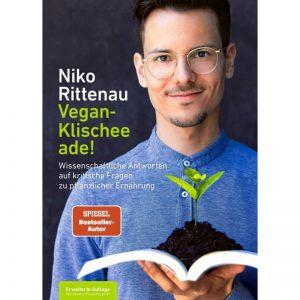 Vegan Klischee ade - Buch von Niko Rittenau