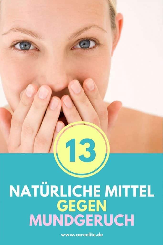 Natürliche Mittel gegen Mundgeruch Hausmittel