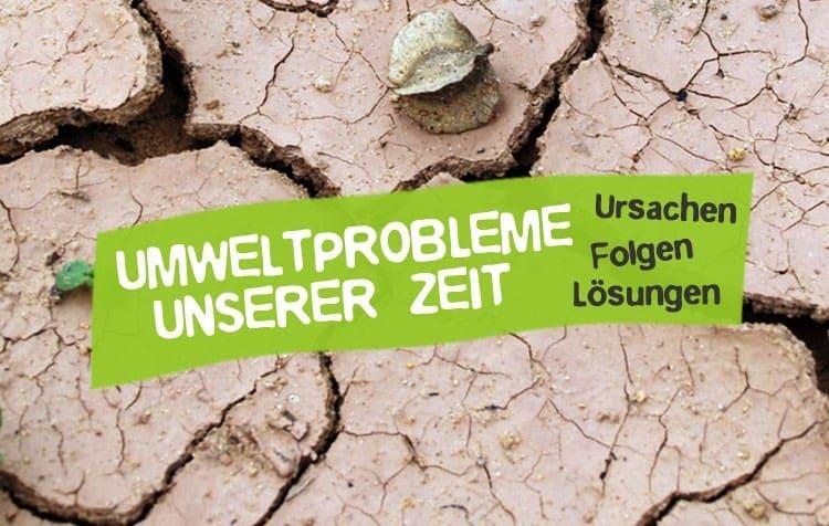 Umweltprobleme unserer Zeit- Ursachen und Lösungen