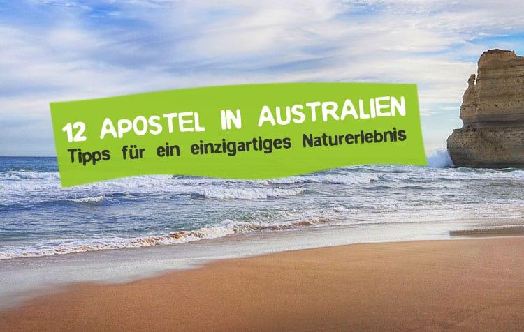 12 Apostel in Australien - Felsen besichtigen