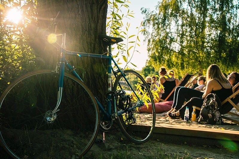 Nachhaltig leben im Alltag - Unterwegs Fahrrad