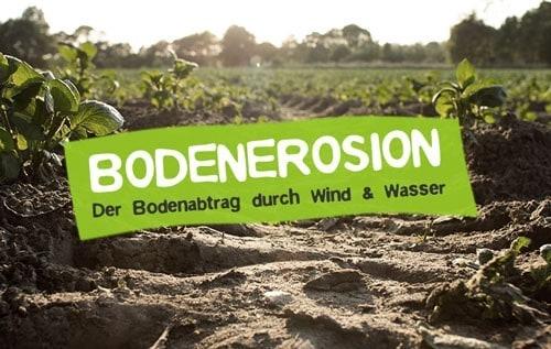 Bodenerosion und Bodenabtrag als Umweltproblem