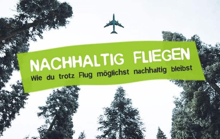 Nachhaltig fliegen - So geht's