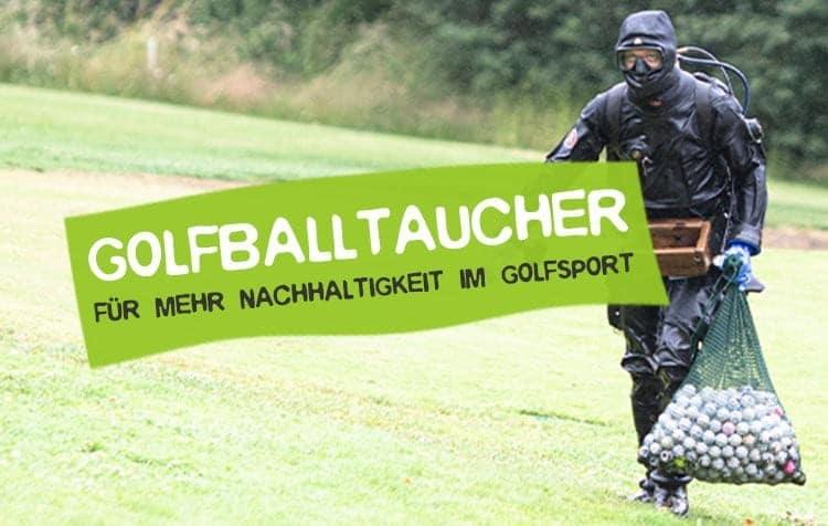 Golfballtaucher - Beruf für mehr Nachhaltigkeit im Golfsport