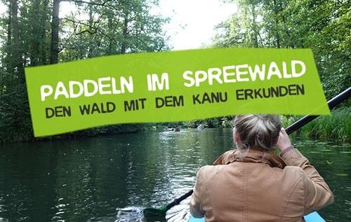 Paddeln im Spreewald mit dem Kanu
