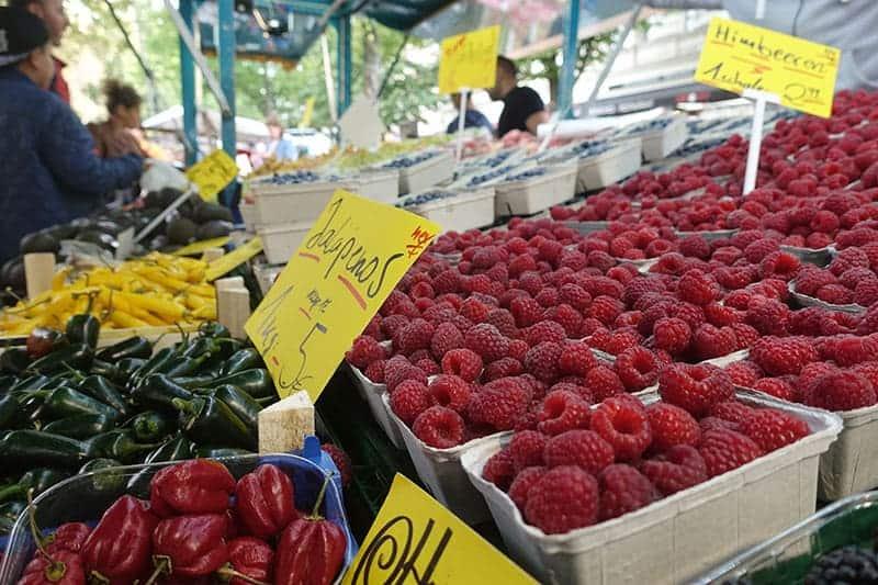 Nachhaltig saisonal Lebensmittel einkaufen