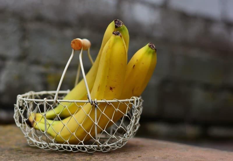 Vegan auf Festivals mit Bananen