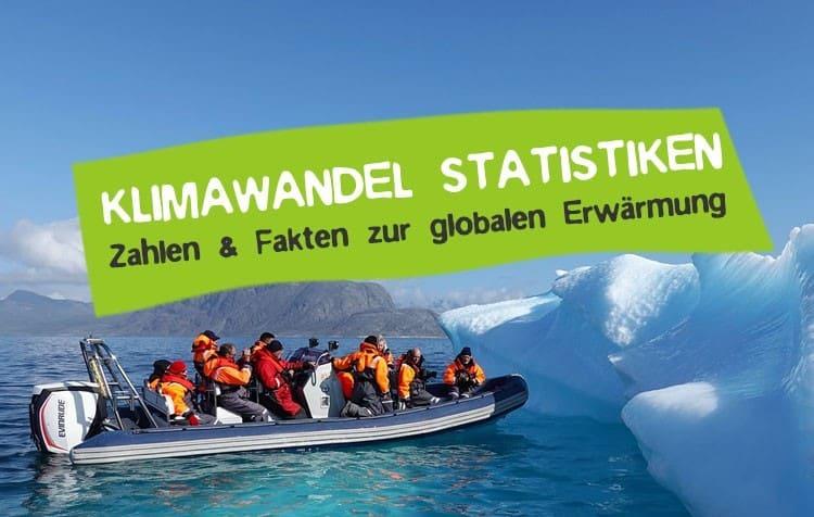 Statistiken und Fakten zum Klimawandel