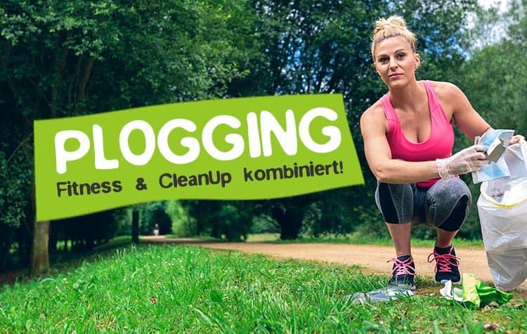 Plogging - Trendsportart mit Müll sammeln