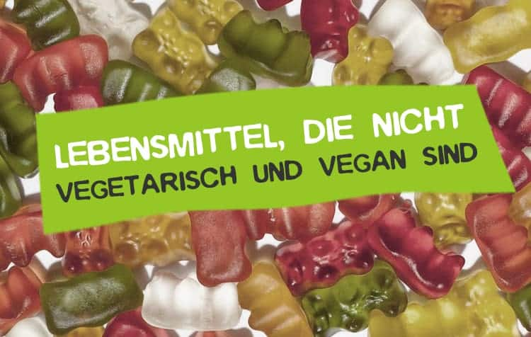 Nicht vegetarische und vegane Lebensmittel und Produkte