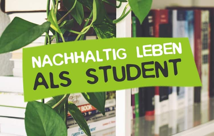 Nachhaltig leben als Student Tipps