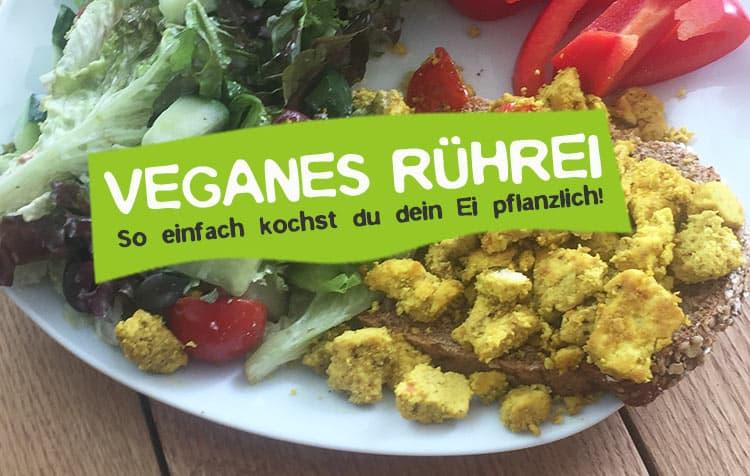 Veganes Rührei selber kochen - Rezept