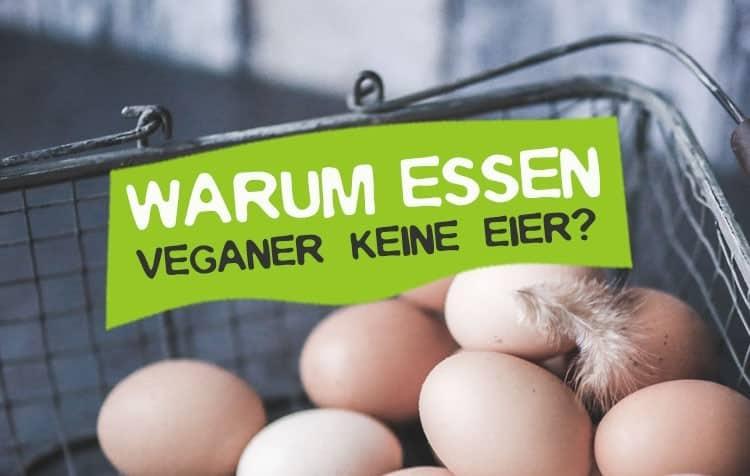 Warum Veganer keine Eier essen
