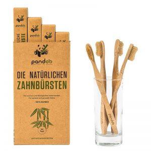 Vegane plastikfreie Holzzahnbürste kaufen