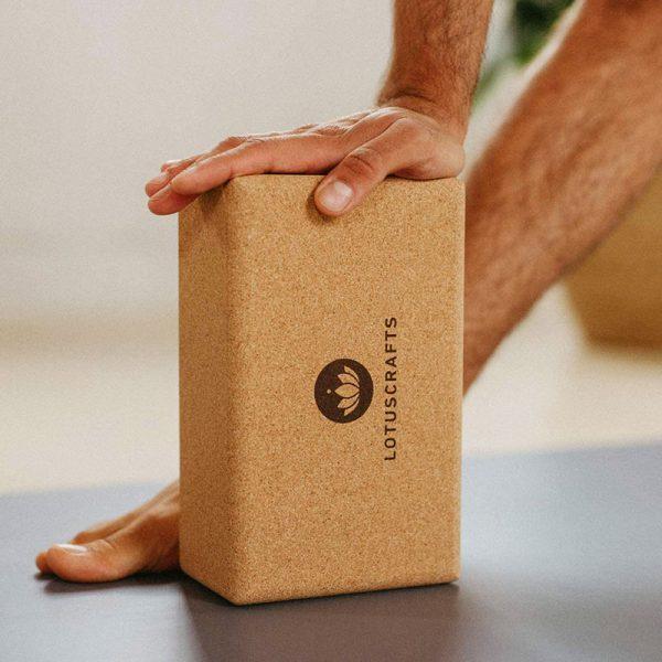 Kork Yogablock ohne Plastik