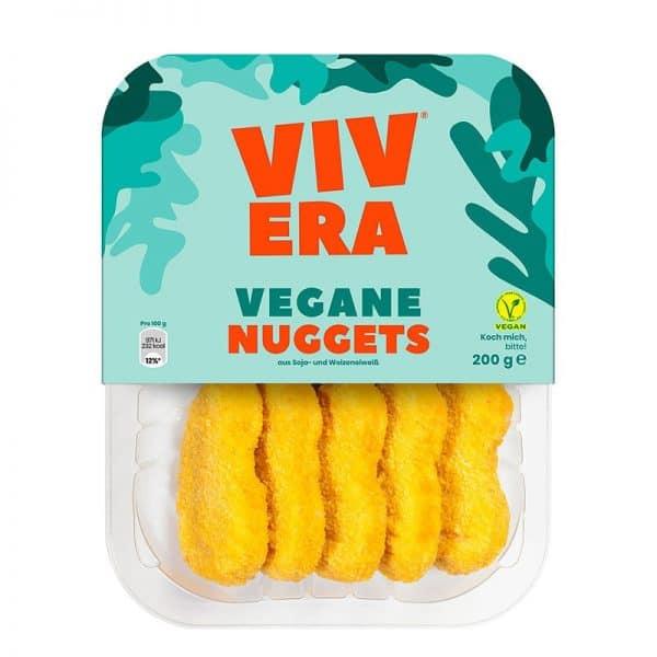 Vegane Chicken Nuggets als pflanzlicher Ersatz