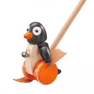 Pinguin Holz Schiebetier