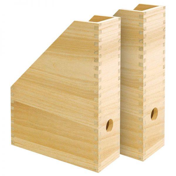 Stehsammler aus Holz