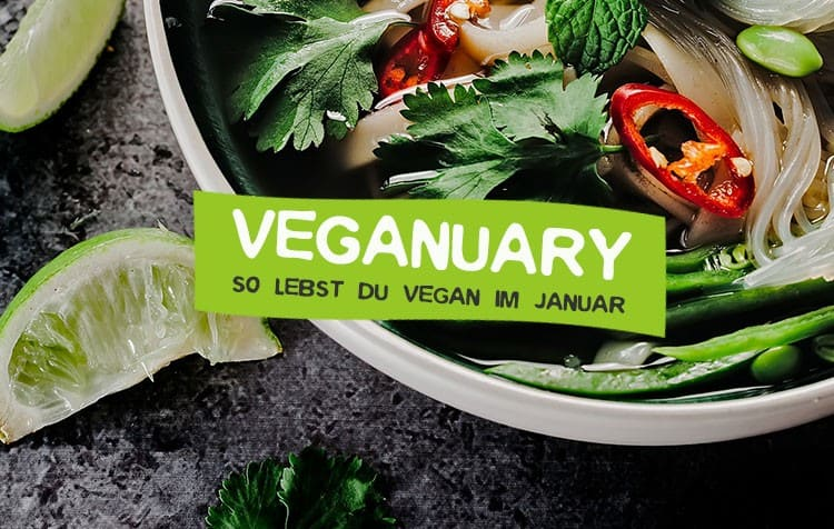 Veganuary - So startest du vegan ins neue Jahr
