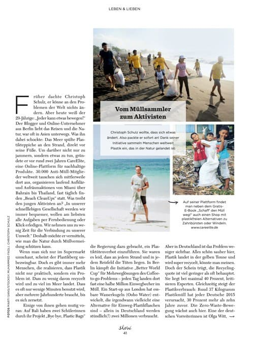 Slow Magazin Christoph Schulz
