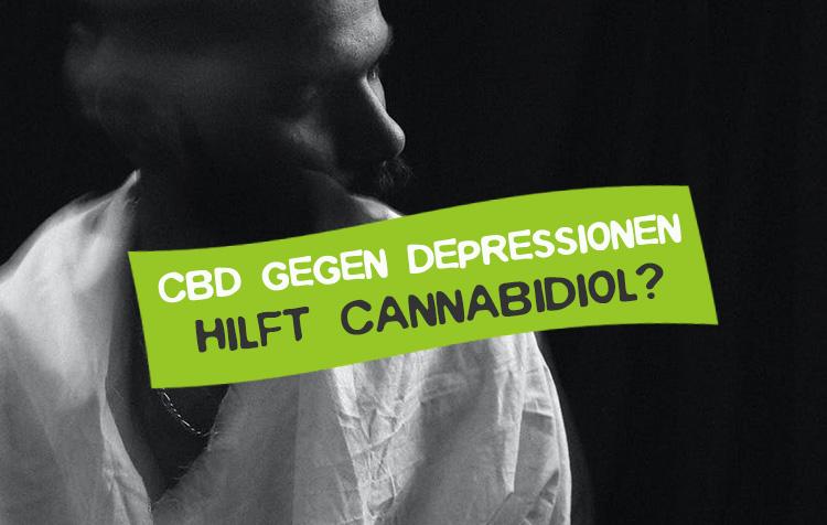 Cannabidiol gegen Depressionen