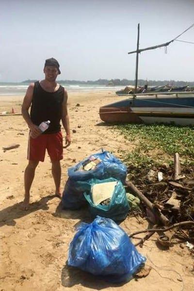 CleanUp auf Sri Lanka