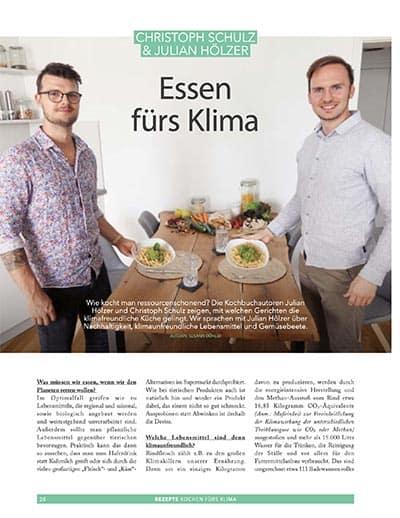 Julian Hölzer und Christoph Schulz