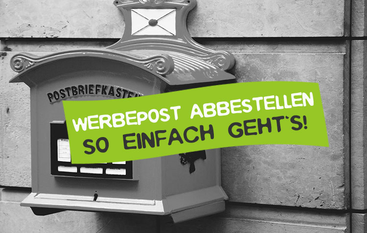 Werbung per Post abbestellen