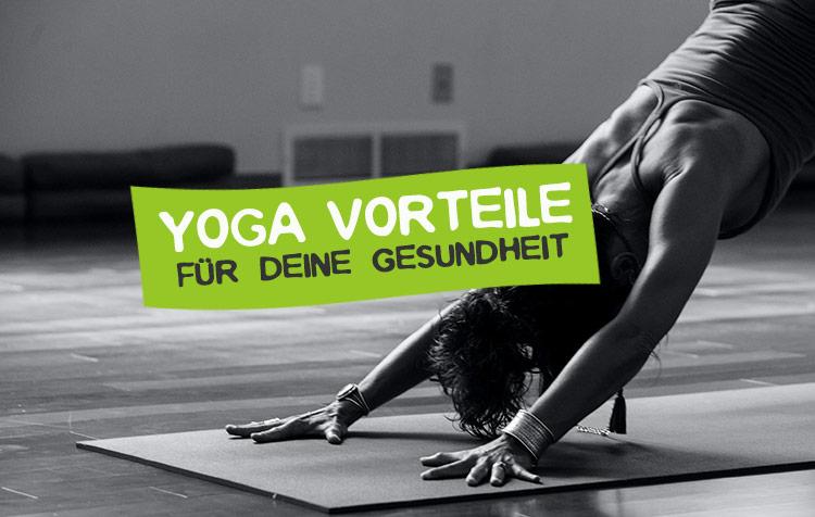 Yoga Vorteile für Gesundheit
